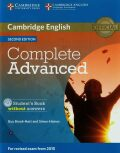Complete Advanced 2nd Edition Student´s Book without answers (2015 Exam Specification) - Guy Brook-Hart, Simon Haines