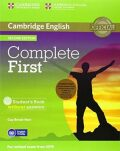 Complete First B2 Student´s Pack (Student´s Book without Answers with CD-ROM, Workbook without Answers with Audio CD) (2015 Exam Specification) - Guy Brook-Hart