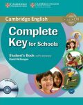 Complete Key for Schools Students Book with Answers with CD-ROM - Sue Elliott, Emma Heyderman