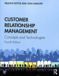 Customer Relationship Management : Concepts and Technologies - Buttle Francis, Maklan Stan