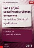 Daň z příjmů společnosti s ručením omezeným - Veronika Dvořáková