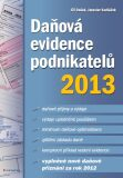 Daňová evidence podnikatelů 2013 - Jaroslav Sedláček, ...