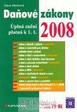 Daňové  zákony 2008 - Grada - Hana Marková