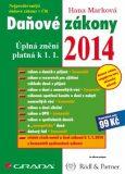 Daňové zákony 2014 -  Úplná znění platná k 1. 1. 2014 - Hana Marková