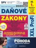 Daňové zákony 2020 ČR XXL ProFi (díl první, vydání 3.1) - autorů kolektiv