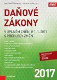 Daňové zákony v úplném znění k 1. 1. 2017 s přehledy změn - Pavel Běhounek