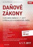 Daňové zákony v úplném znění k 1. 7. 2017 - Pavel Běhounek