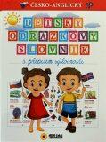 Dětský obr.slovník s přepisem výslovnost - SUN