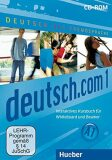 Deutsch.com 1: Interaktives Kursbuch CD-ROM - Sara Vicente,  Anta Kursiša, ...