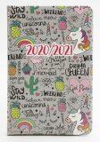 Diář školní 2020-2021 Kaktusy a ananasy 18 měsíční - Happy Spirit