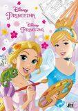 Disney Princezna - Omalovánky A4 - kolektiv