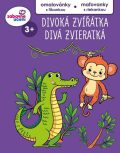 Divoká zvířata omalovánky s říkankou/maľovanky s riekankou - Ditipo