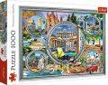 Dovolená v Itálii: Puzzle/1000 dílků - Trefl