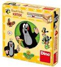 Dřevěné kostky Krteček 4ks - Dino Toys