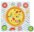 Dřevěné puzzle - Pizza - BINO