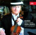 Dvořák: Romantické kusy, Capriccio, Romance, Sonatina, Mazurek a Balada pro housle a klavír - CD - Pavel Šporcl