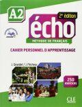 Écho A2: Cahier d´exercices + CD audio, 2ed - Jacques Pecheur