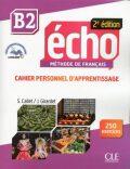 Écho B2: Cahier d´exercices + CD audio, 2ed - Jacques Pecheur