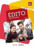 Édito B1 Učebnice + CD Mp3 + DVD (Ed. 2018) - Heu Élodie, ...