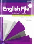 English File Beginner Multipack A with Student Resource Centre Pack (4th) - Clive Oxenden, ...