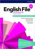 English File Intermediate Plus Teacher´s Book with Teacher´s Resource Center (4th) - Clive Oxenden, ...