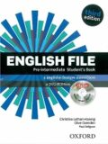 English File Pre-intermediate Student´s Book with iTutor DVD-ROM 3rd (CZEch Edition) - Ch. Latham-Koenig, ...