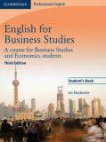 English for Business Studies - Ian MecKenzie