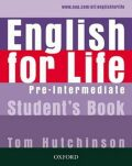 English for Life Pre-intermediate Student´s Book - Tom Hutchinson