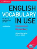 English Vocabulary in Use 2nd Edition Elementary: Edition with answers - Michael McCarthy, ...