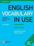 English Vocabulary in Use: Advanced Book with Answers and Enhanced eBook - Michael McCarthy, ...