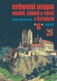 Erbovní mapa hradů, zámků a tvrzí v Čechách 6 - Milan Mysliveček