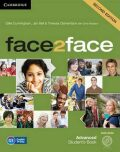 face2face Advanced Students Book with DVD-ROM,2nd - Gillie Cunningham