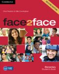 face2face Elementary Student´s Book - Chris Redston
