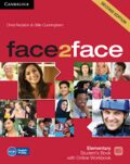 face2face Elementary Student´s Book with Online Workbook - Chris Redston