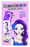 Fashion Girl kreativní skicák - Vlasová & Make-up stylistka - Playco