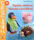 Figúrky zdobené flitrami a korálikmi - Ingrid Rajecky