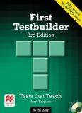First Certificate Testbuilder 3rd Edition: With Key + Audio CD Pack - Mark Harrison