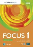 Focus 1 Student´s Book with Standard Pearson Practice English App (2nd) - Marta Uminska