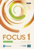 Focus 1 Teacher´s Book with Pearson Practice English App (2nd) - Patricia Reilly