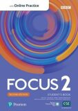 Focus 2 Student´s Book with Standard Pearson Practice English App (2nd) - Sue Kay