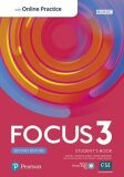 Focus 3 Student´s Book with Standard Pearson Practice English App (2nd) - Sue Kay