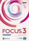 Focus 3 Teacher´s Book with Pearson Practice English App (2nd) - Sue Kay