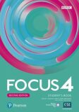 Focus 4 Student´s Book with Basic Pearson Practice English App (2nd) - Sue Kay