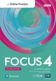 Focus 4 Student´s Book with Standard Pearson Practice English App (2nd) - Sue Kay