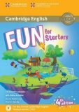 Fun for Starters Student´s Book with Online Activities with Audio - Anne Robinson