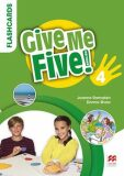 Give Me Five! Level 4 - Flashcards - Donna Shaw