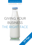 Giving your business the right face - Alexandra John