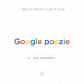 Google poezie - Miklica Tomáš, ...