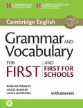 Grammar and Vocabulary for First and First for Schools Book with An.and Audio - Barbara Thomas