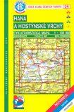 Haná a Hostýnské Vrchy 1:100 000 - Cabalka Zdeněk